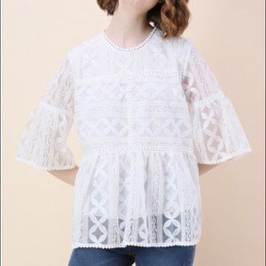 Chicwish Summer Lovin' Embroidered Dolly Top